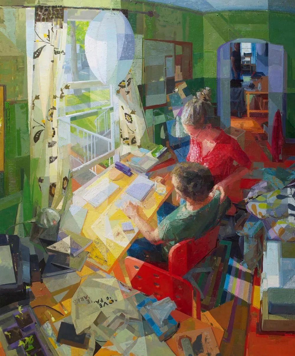 色彩新清的具象绘画,美国女画家佐伊·弗兰克插图10