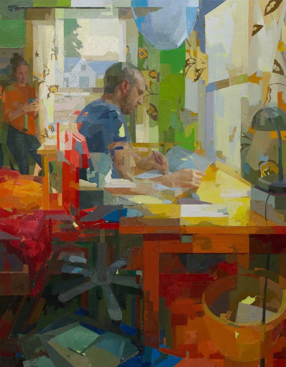 色彩新清的具象绘画,美国女画家佐伊·弗兰克插图11