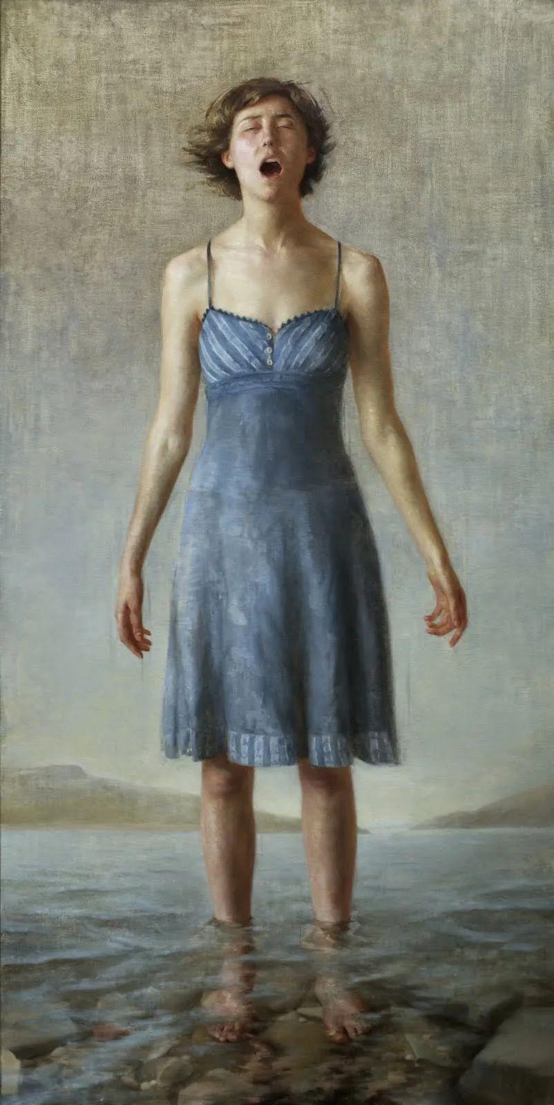 色彩新清的具象绘画,美国女画家佐伊·弗兰克插图13