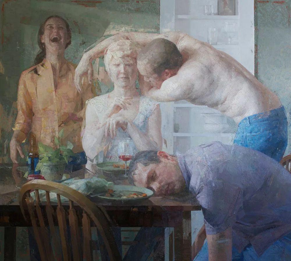 色彩新清的具象绘画,美国女画家佐伊·弗兰克插图15