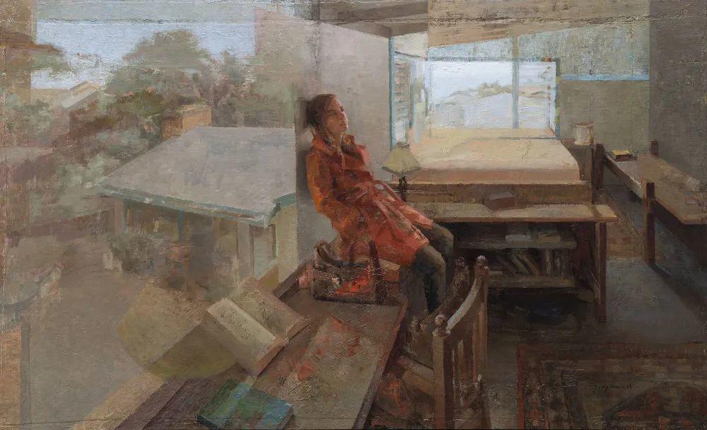 色彩新清的具象绘画,美国女画家佐伊·弗兰克插图18