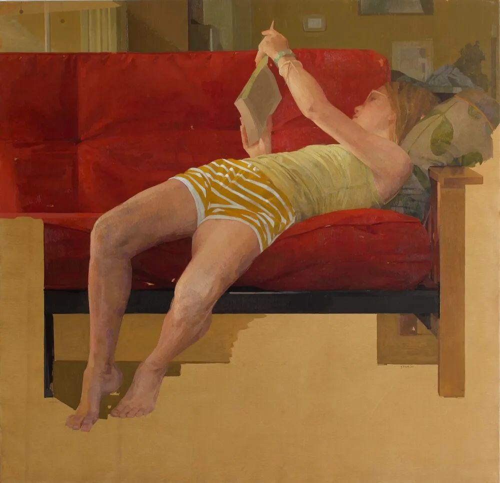 色彩新清的具象绘画,美国女画家佐伊·弗兰克插图19