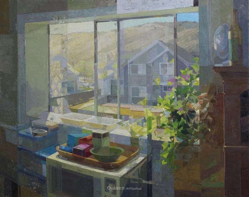 色彩新清的具象绘画,美国女画家佐伊·弗兰克插图21