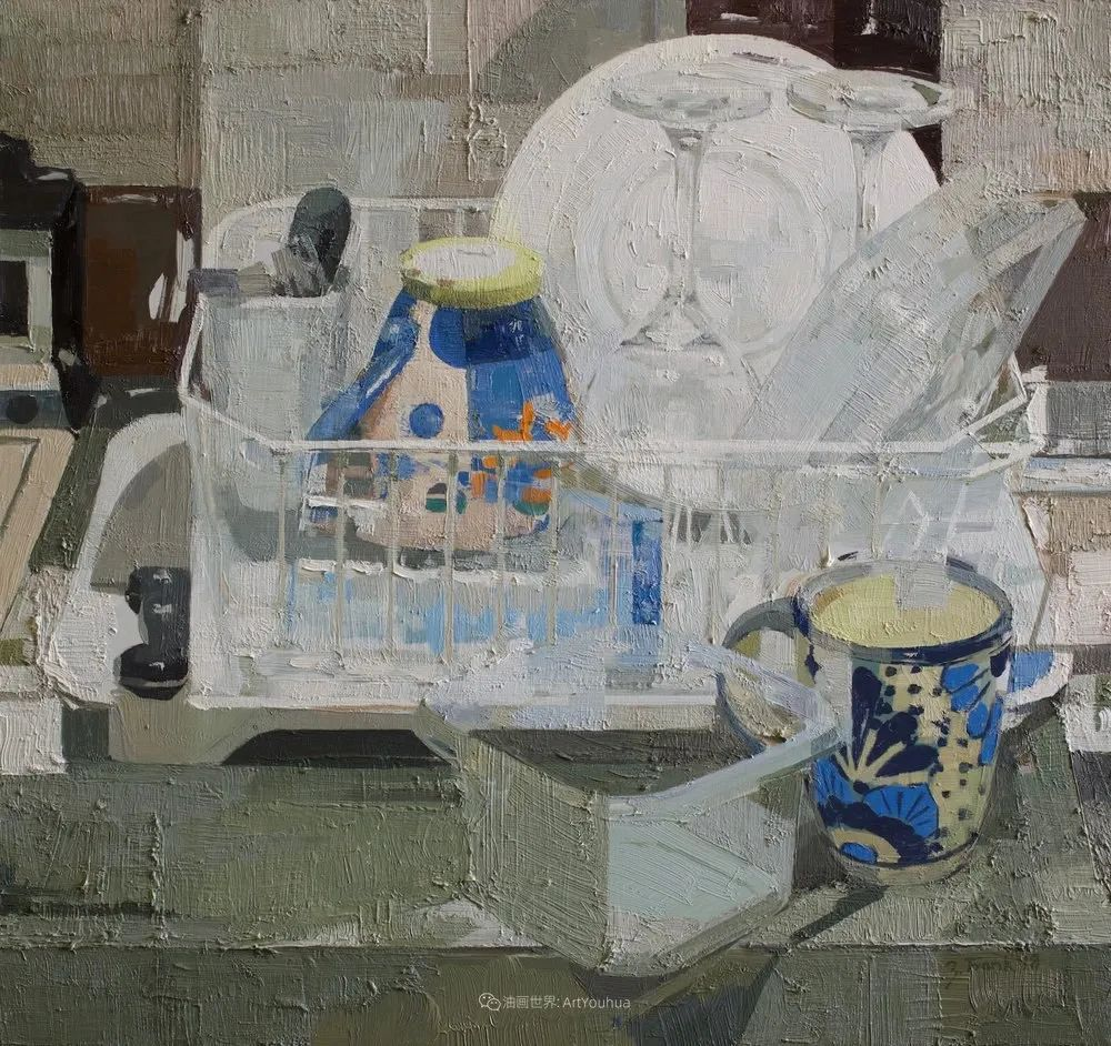 色彩新清的具象绘画,美国女画家佐伊·弗兰克插图22