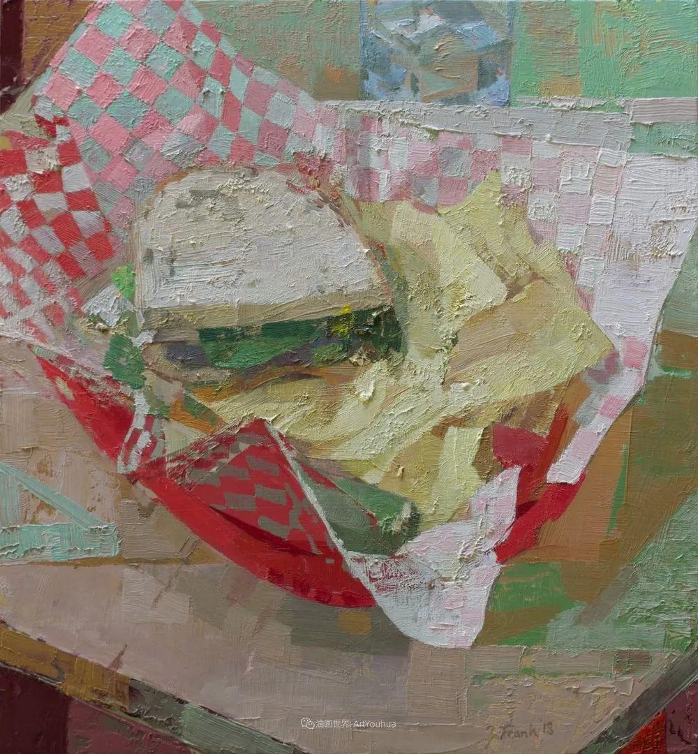 色彩新清的具象绘画,美国女画家佐伊·弗兰克插图23