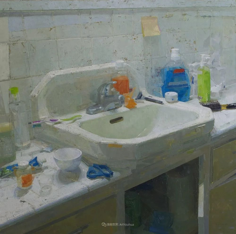 色彩新清的具象绘画,美国女画家佐伊·弗兰克插图25
