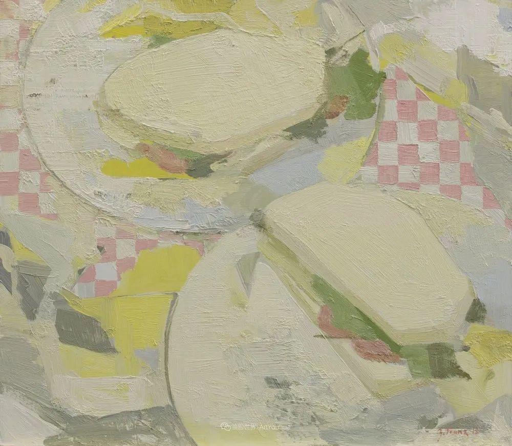 色彩新清的具象绘画,美国女画家佐伊·弗兰克插图26