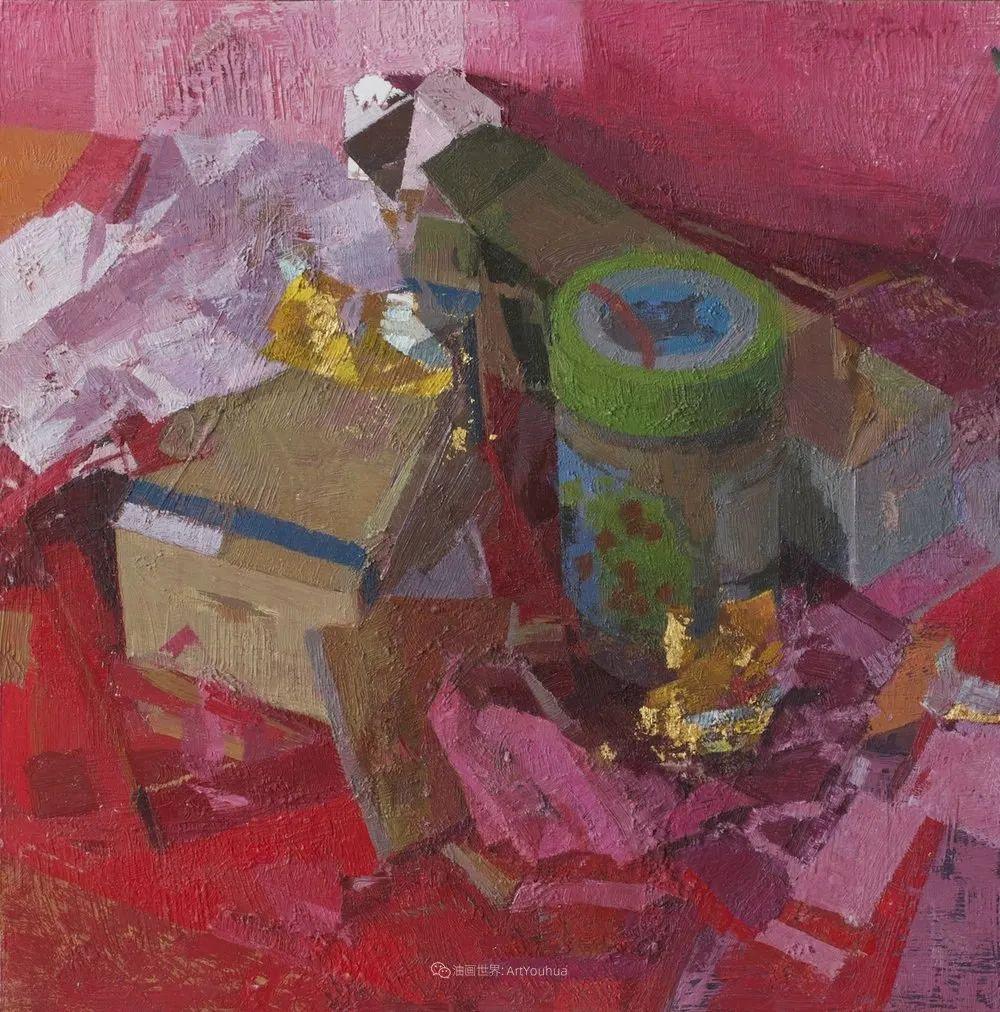 色彩新清的具象绘画,美国女画家佐伊·弗兰克插图27