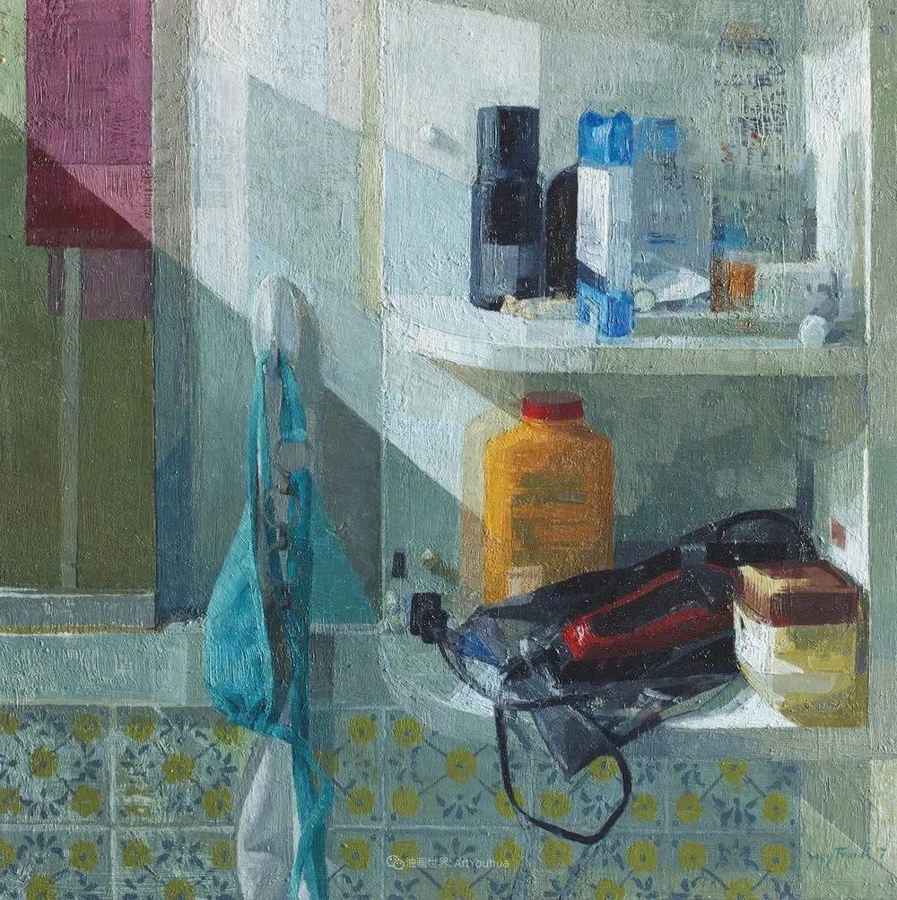 色彩新清的具象绘画,美国女画家佐伊·弗兰克插图29