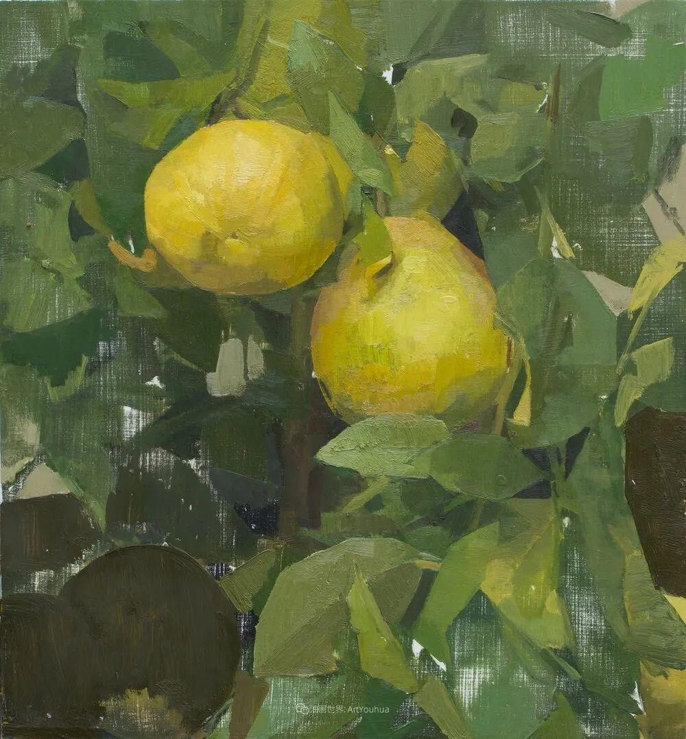 色彩新清的具象绘画,美国女画家佐伊·弗兰克插图30