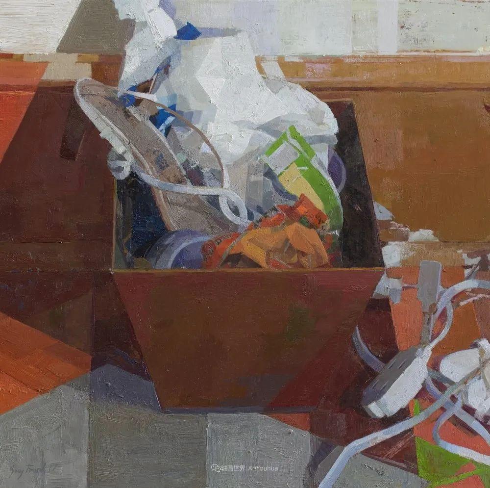色彩新清的具象绘画,美国女画家佐伊·弗兰克插图33