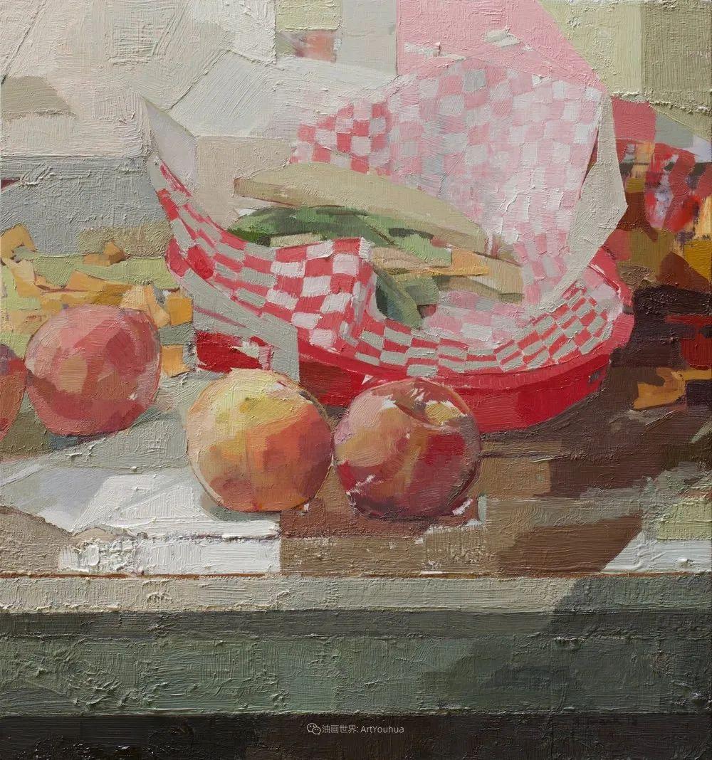 色彩新清的具象绘画,美国女画家佐伊·弗兰克插图34