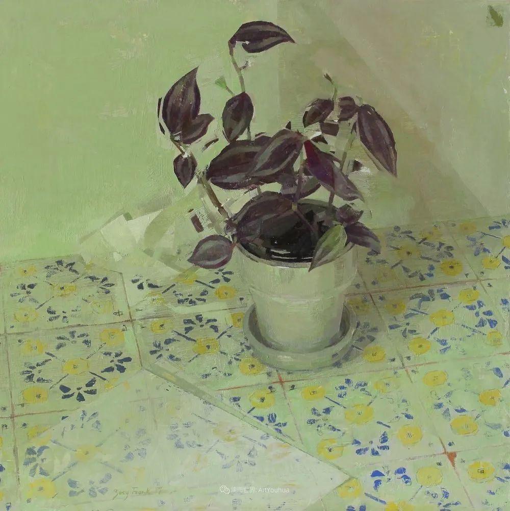 色彩新清的具象绘画,美国女画家佐伊·弗兰克插图35
