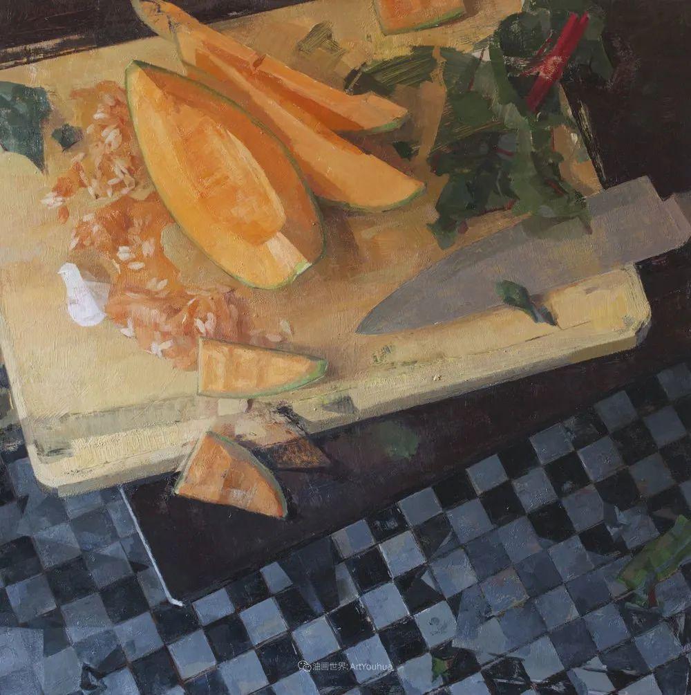 色彩新清的具象绘画,美国女画家佐伊·弗兰克插图36