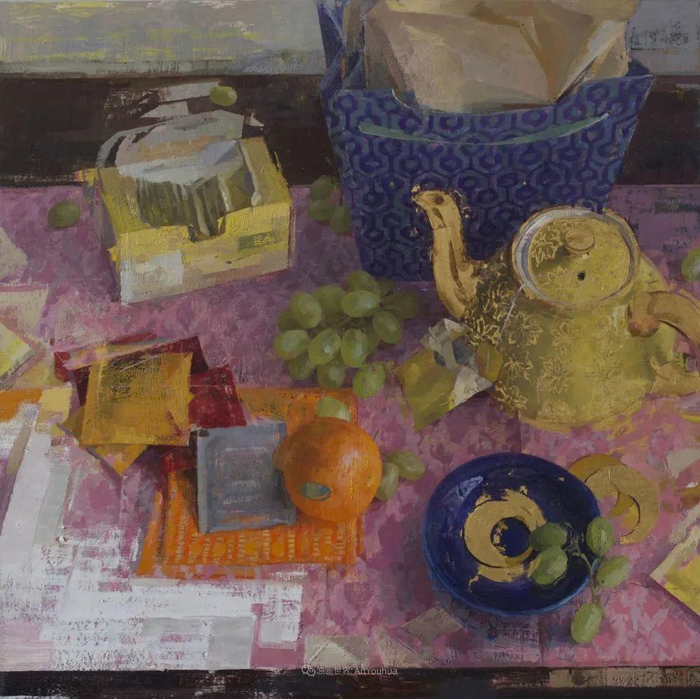 色彩新清的具象绘画,美国女画家佐伊·弗兰克插图38