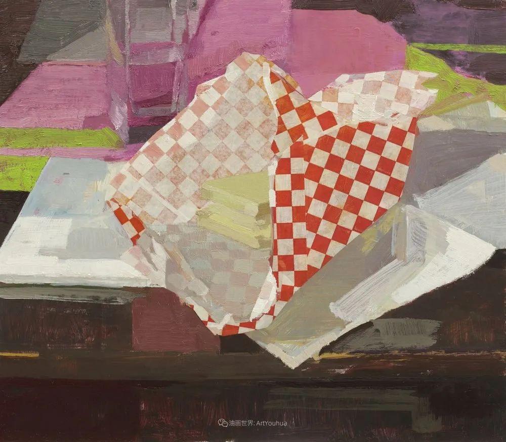 色彩新清的具象绘画,美国女画家佐伊·弗兰克插图39