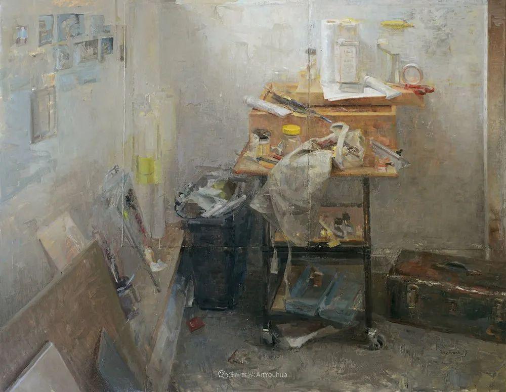 色彩新清的具象绘画,美国女画家佐伊·弗兰克插图40