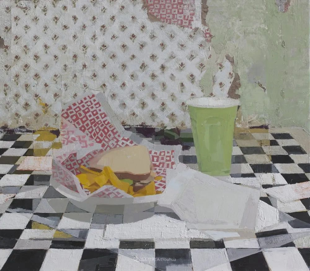 色彩新清的具象绘画,美国女画家佐伊·弗兰克插图42