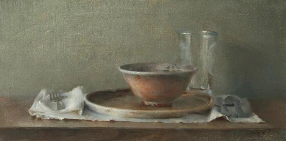 色彩新清的具象绘画,美国女画家佐伊·弗兰克插图43