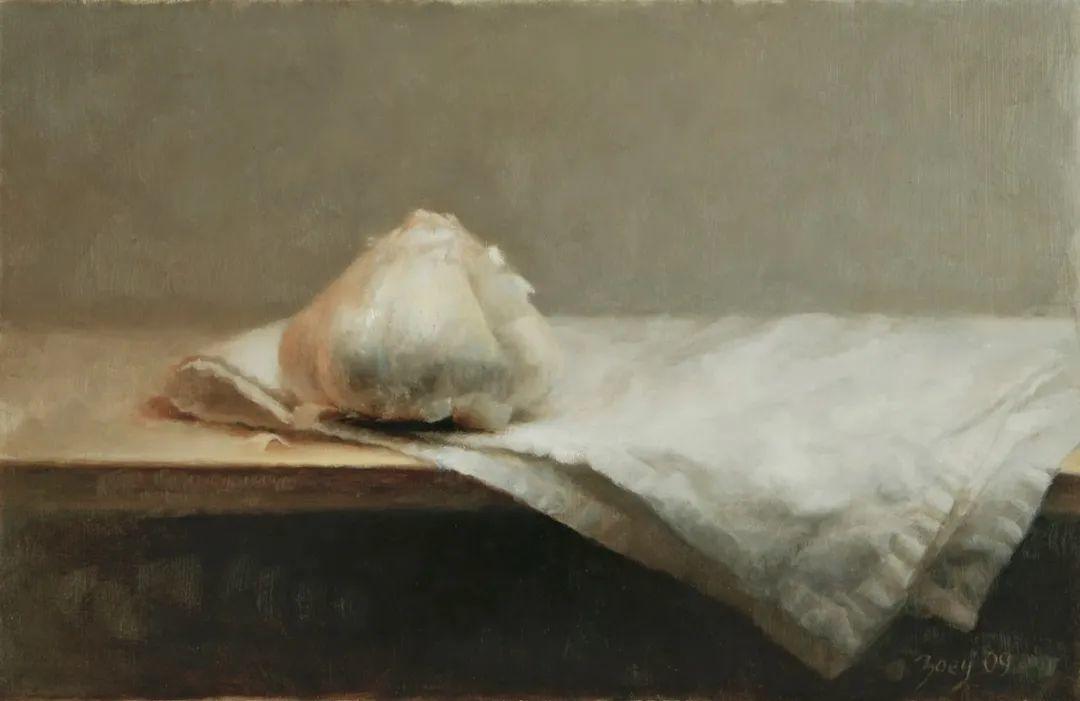 色彩新清的具象绘画,美国女画家佐伊·弗兰克插图46