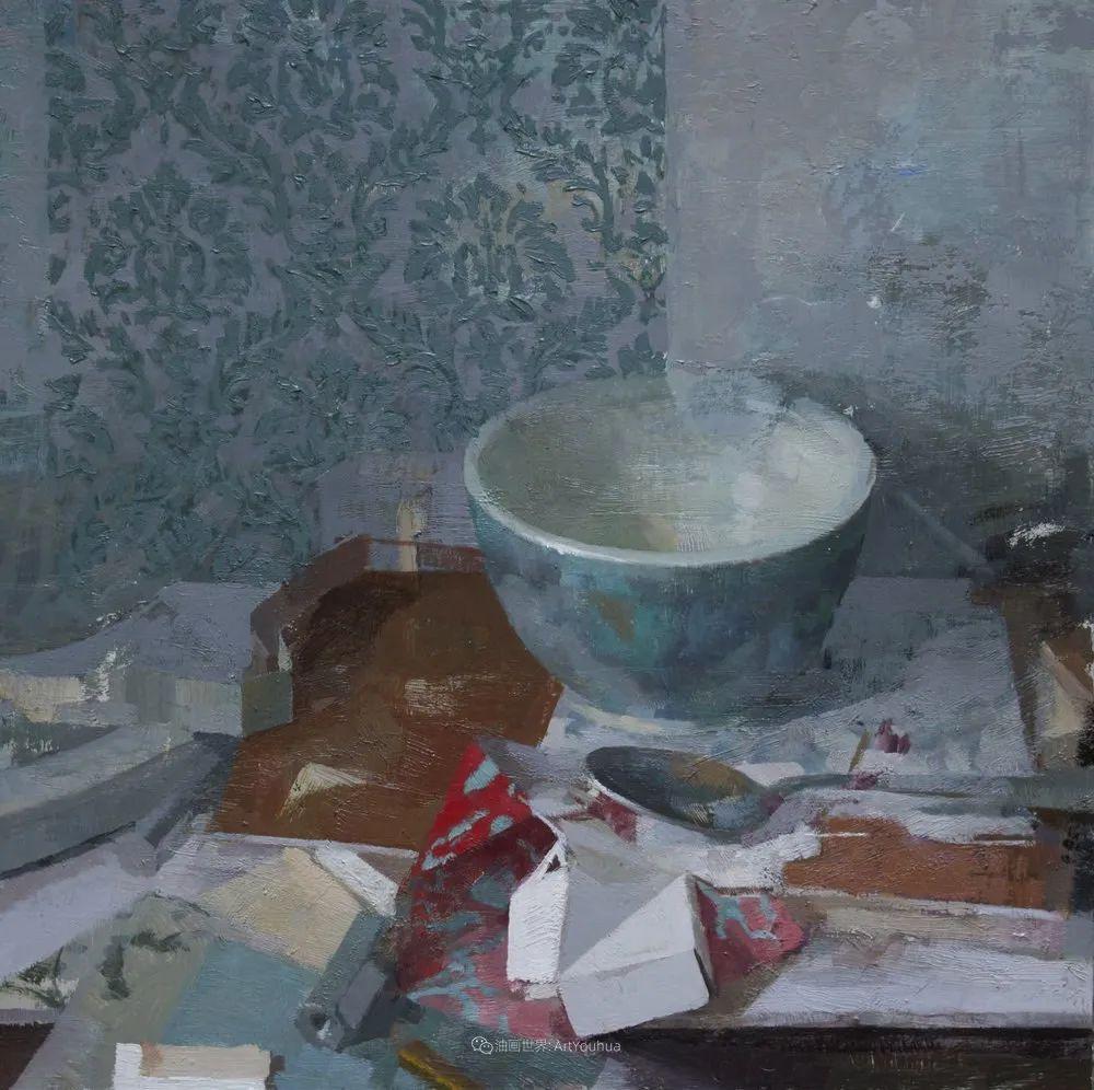 色彩新清的具象绘画,美国女画家佐伊·弗兰克插图50