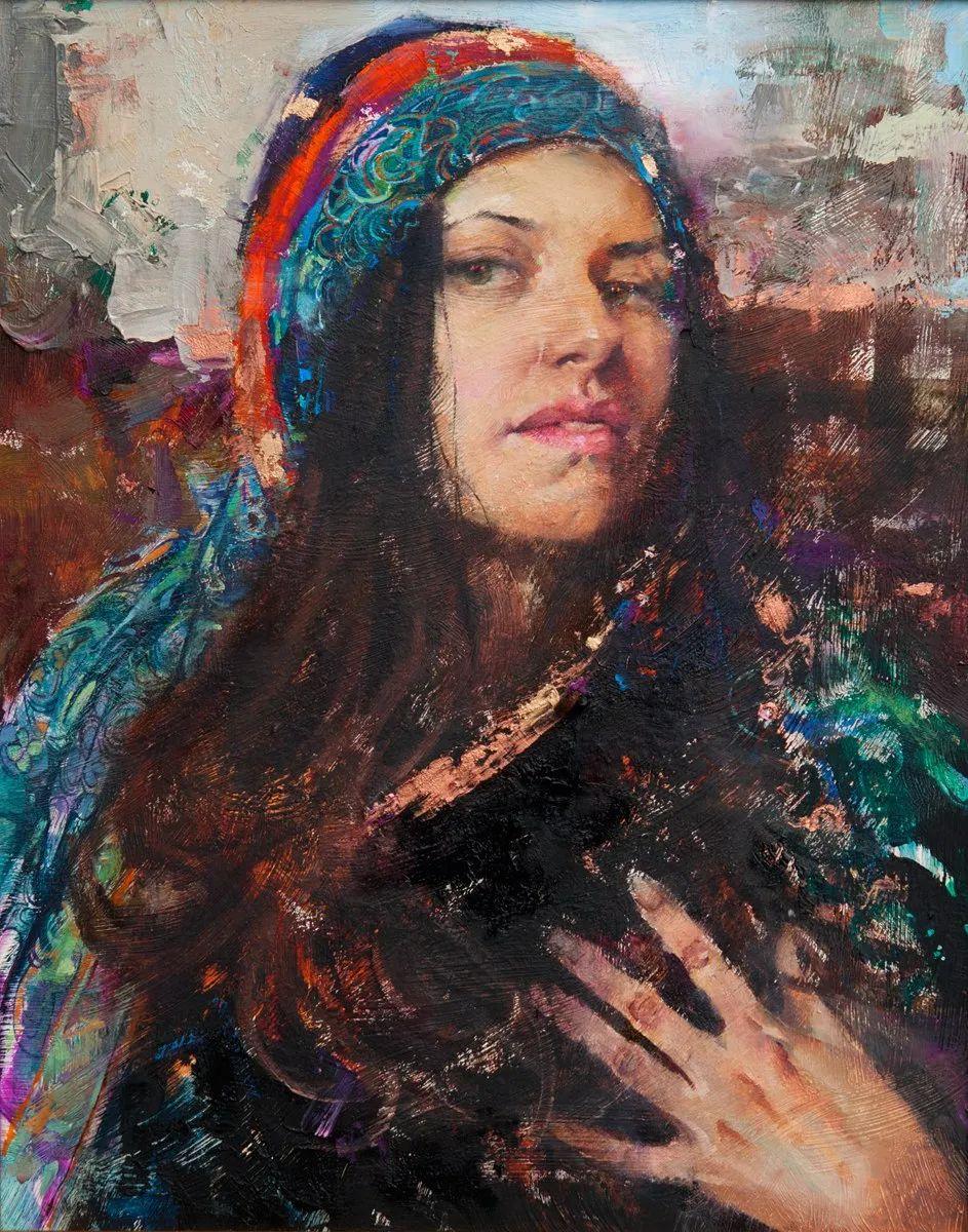 粗狂又细腻的油画,魅力四射,极具视觉冲击感插图37