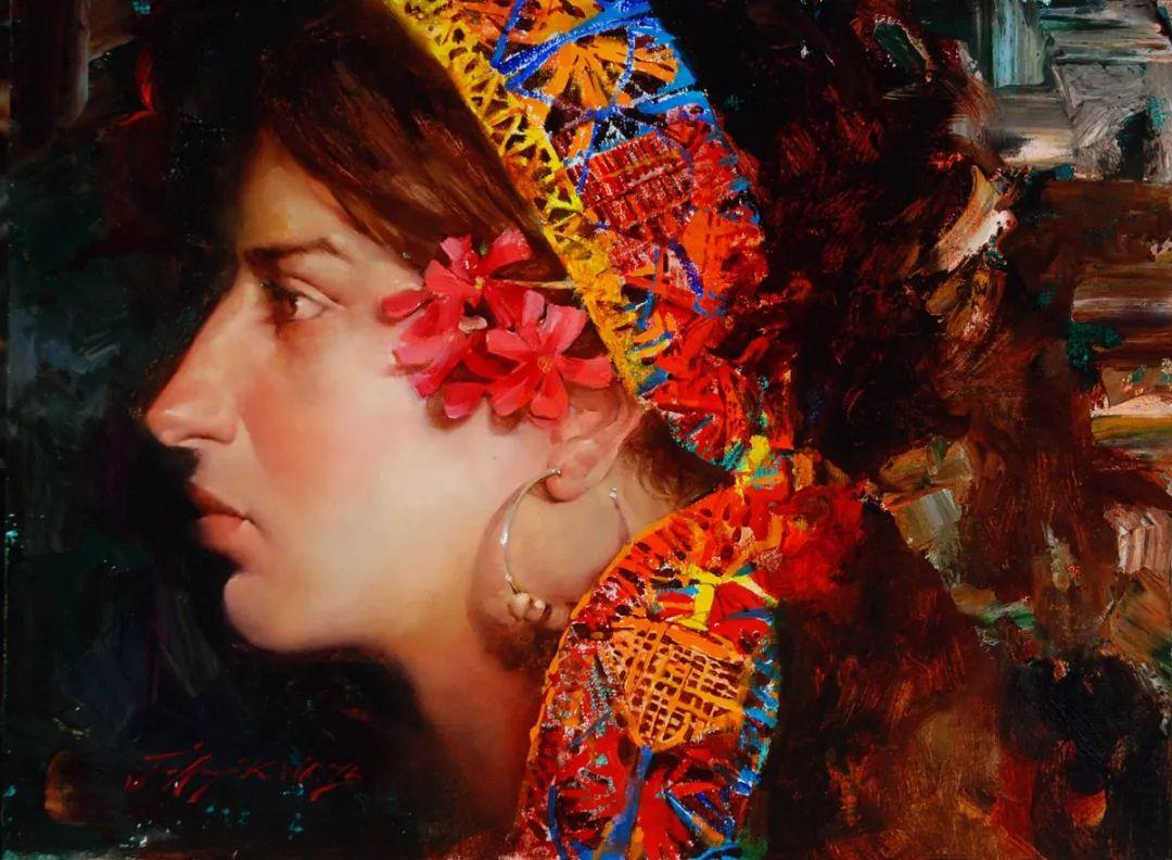 粗狂又细腻的油画,魅力四射,极具视觉冲击感插图51