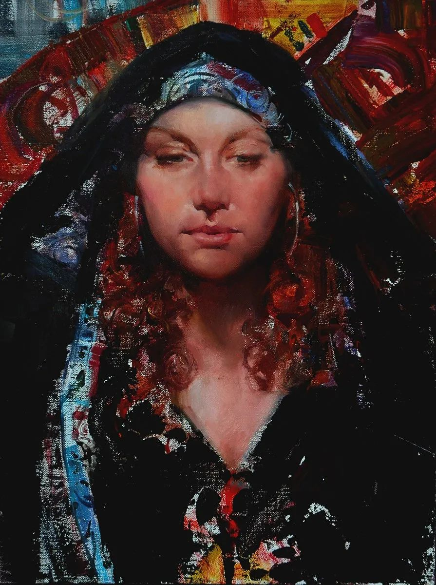 粗狂又细腻的油画,魅力四射,极具视觉冲击感插图55