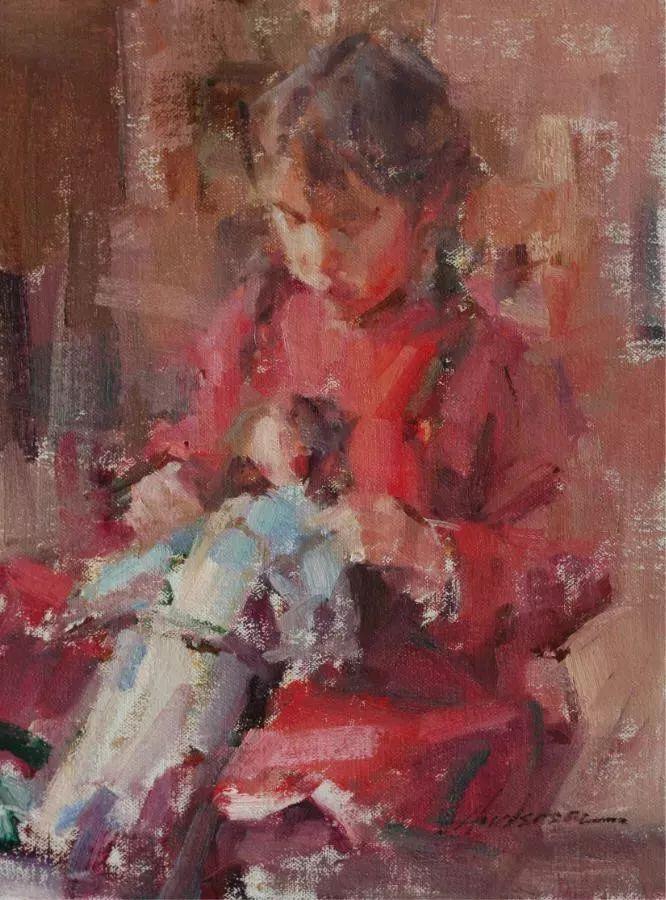 她对光影和色彩,有着艺术家独有的细微观察力插图43