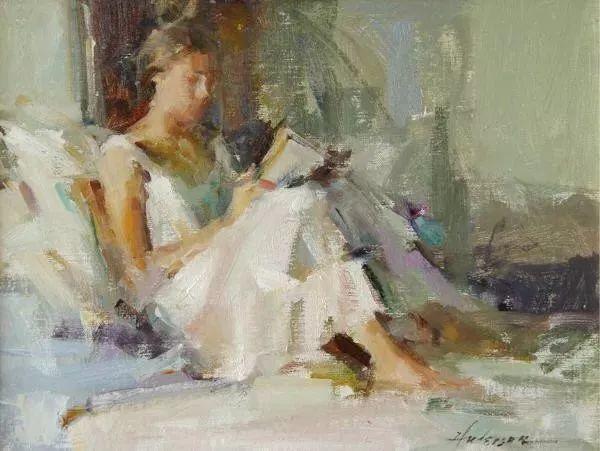 她对光影和色彩,有着艺术家独有的细微观察力插图49