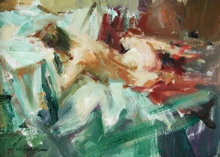 她对光影和色彩,有着艺术家独有的细微观察力插图53