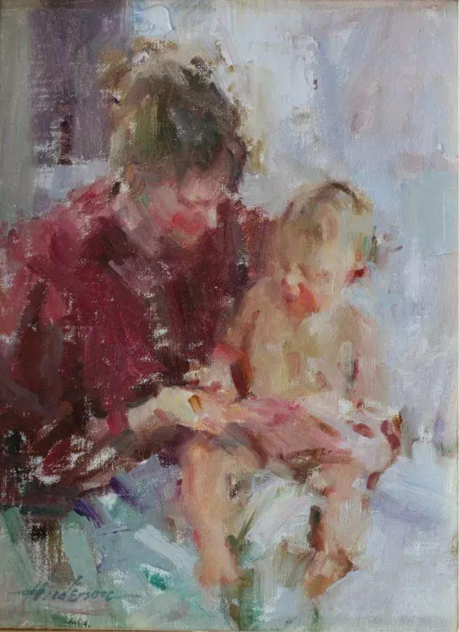 她对光影和色彩,有着艺术家独有的细微观察力插图77