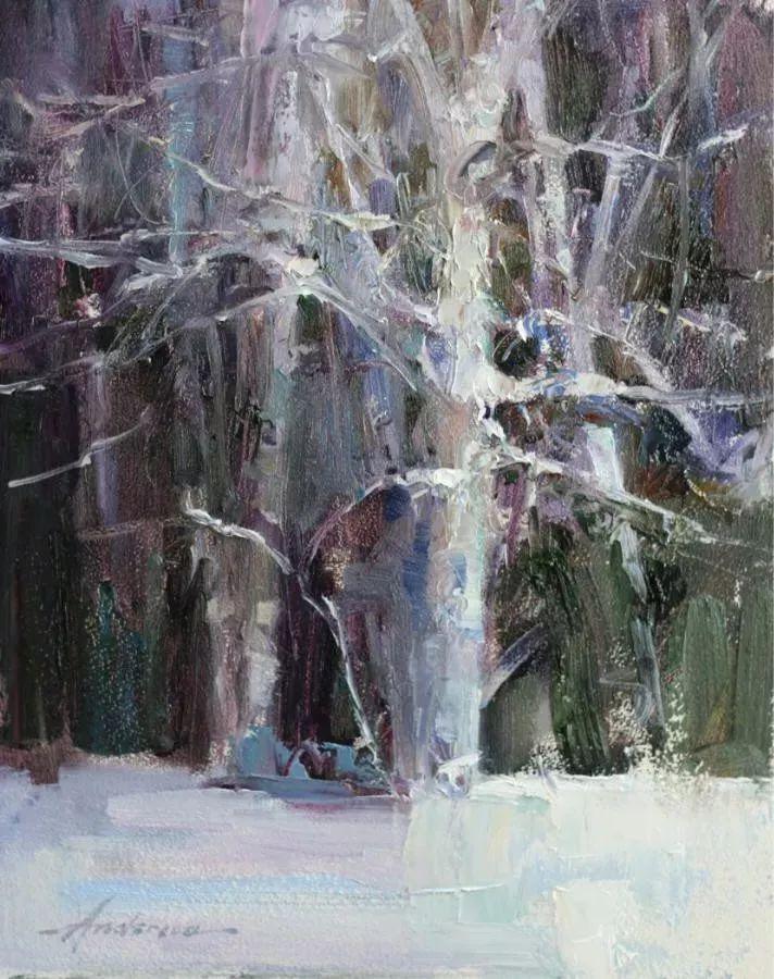 她对光影和色彩,有着艺术家独有的细微观察力插图107