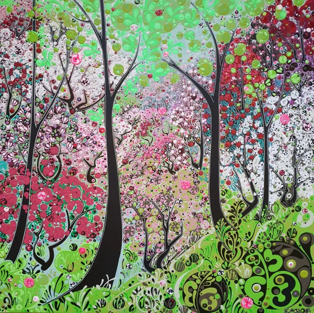 美丽和谐的色彩,丰富的图案,令人回味!插图69