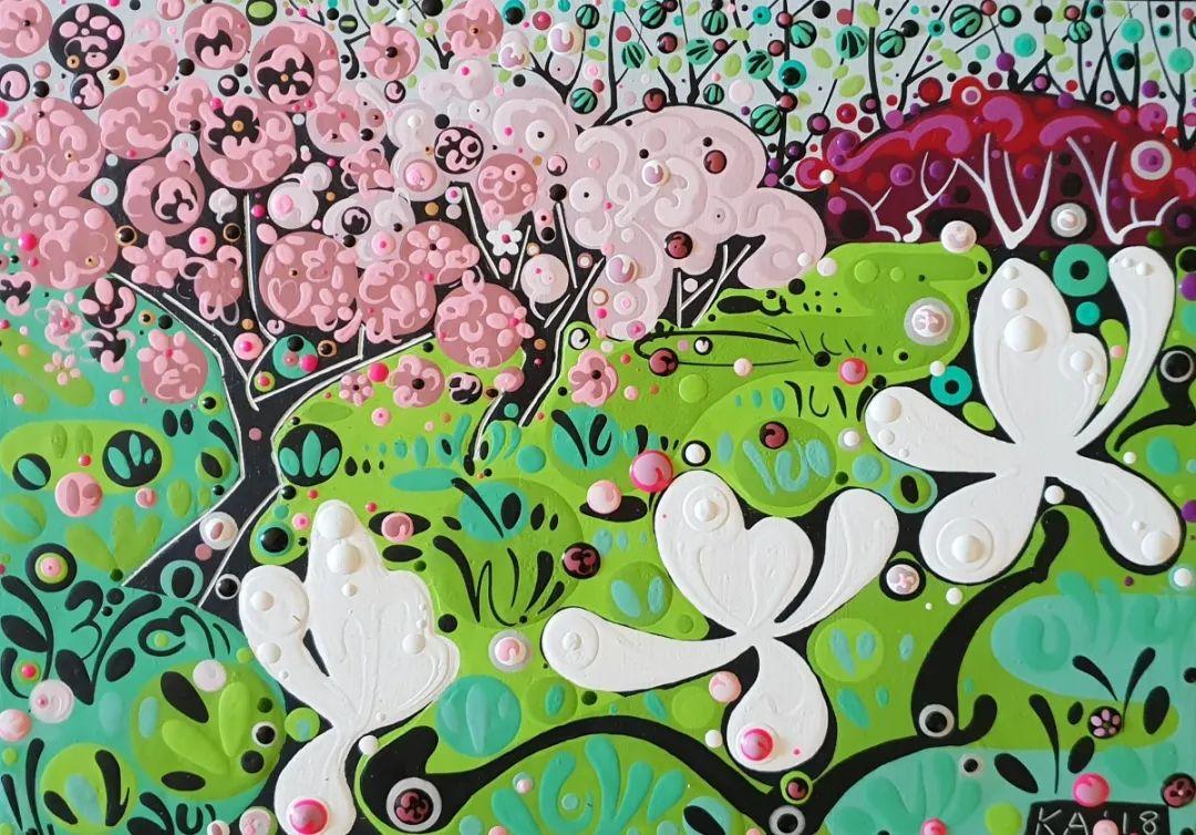 美丽和谐的色彩,丰富的图案,令人回味!插图97