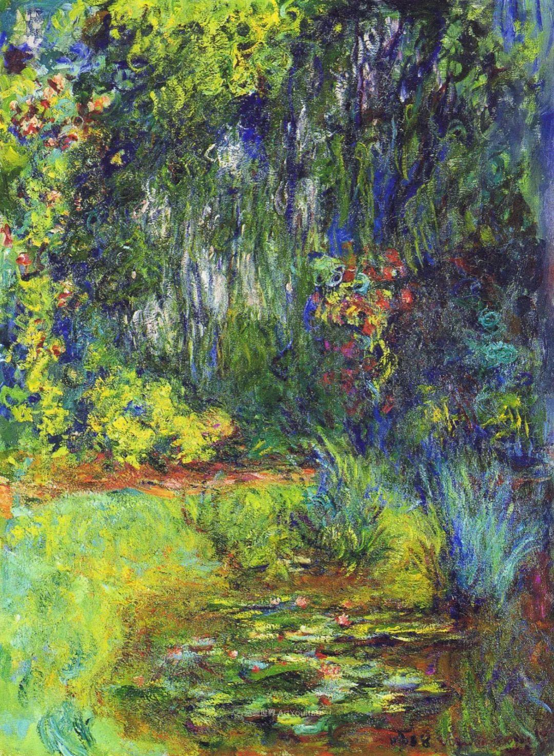阳光四溢的色彩大师   以莫奈的花园祝你牛年欣欣向荣插图5