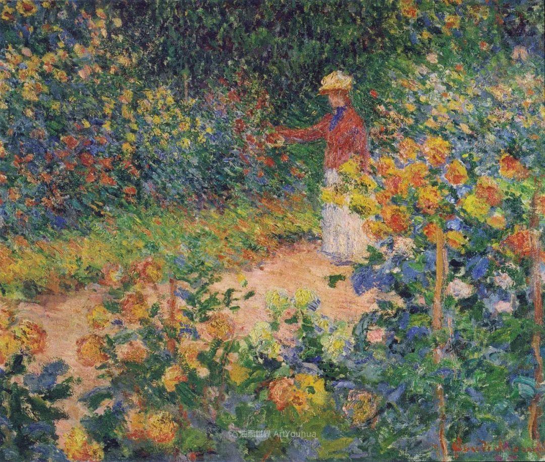 阳光四溢的色彩大师   以莫奈的花园祝你牛年欣欣向荣插图21