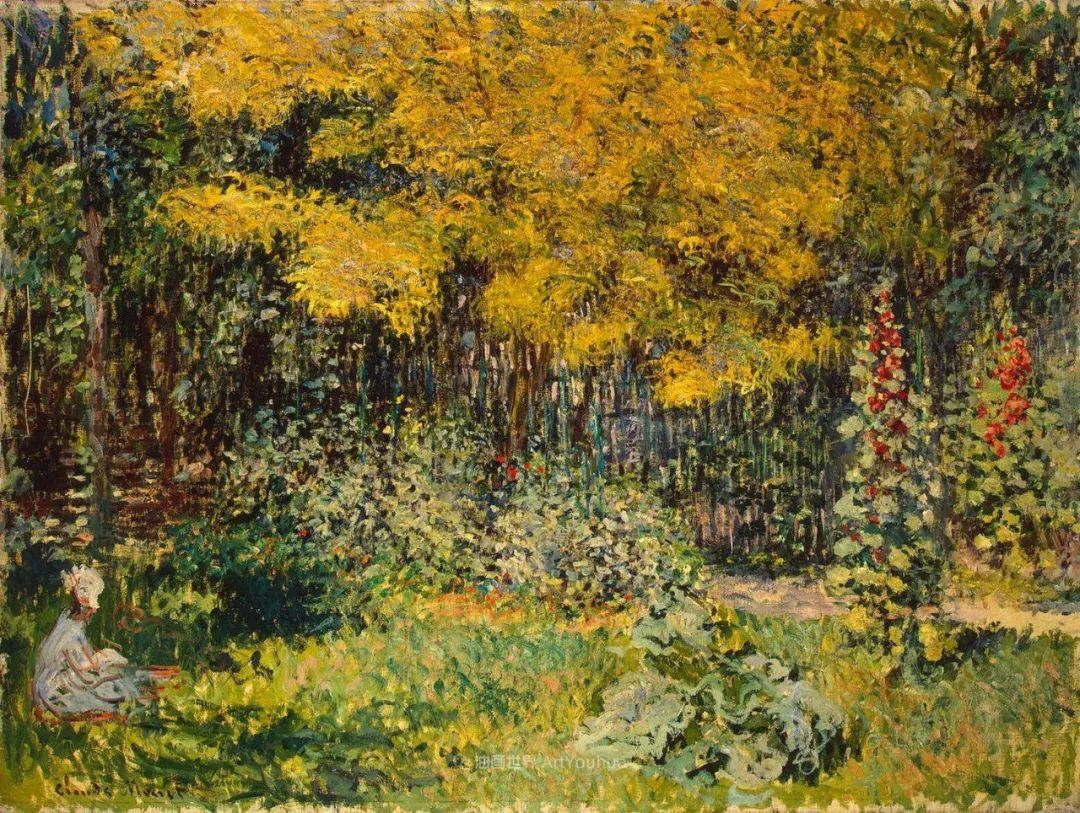 阳光四溢的色彩大师   以莫奈的花园祝你牛年欣欣向荣插图31