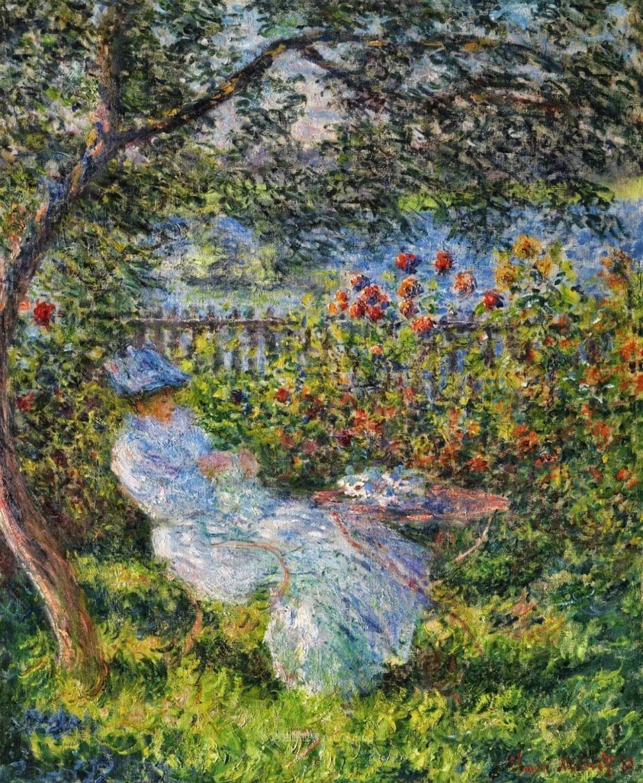 阳光四溢的色彩大师   以莫奈的花园祝你牛年欣欣向荣插图33