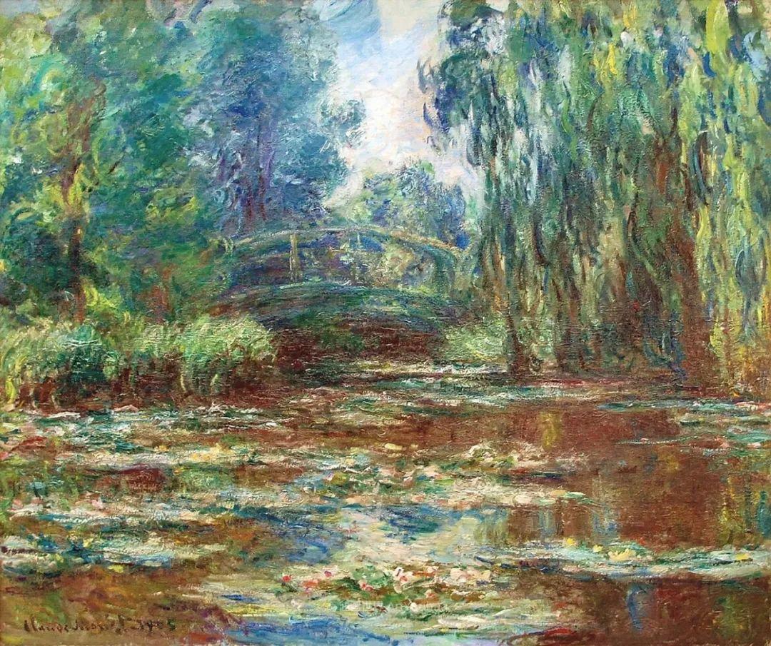 阳光四溢的色彩大师   以莫奈的花园祝你牛年欣欣向荣插图35