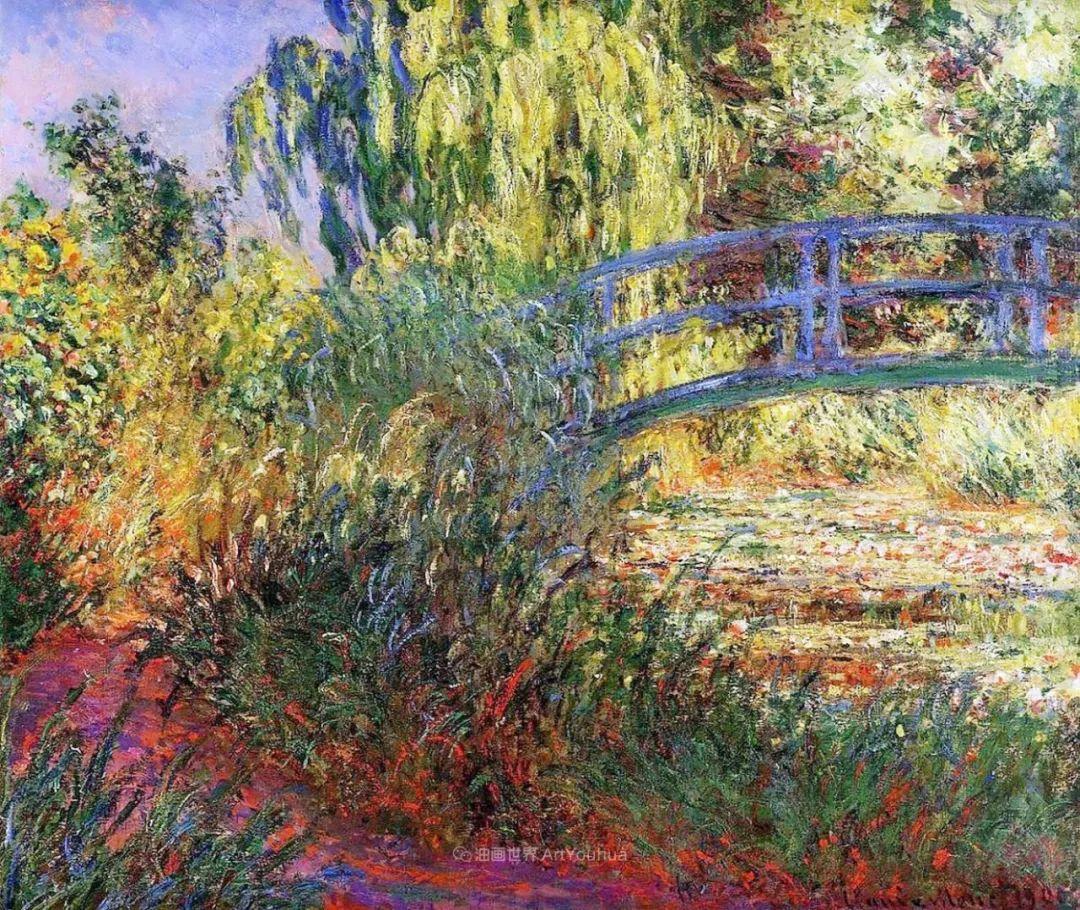阳光四溢的色彩大师   以莫奈的花园祝你牛年欣欣向荣插图39