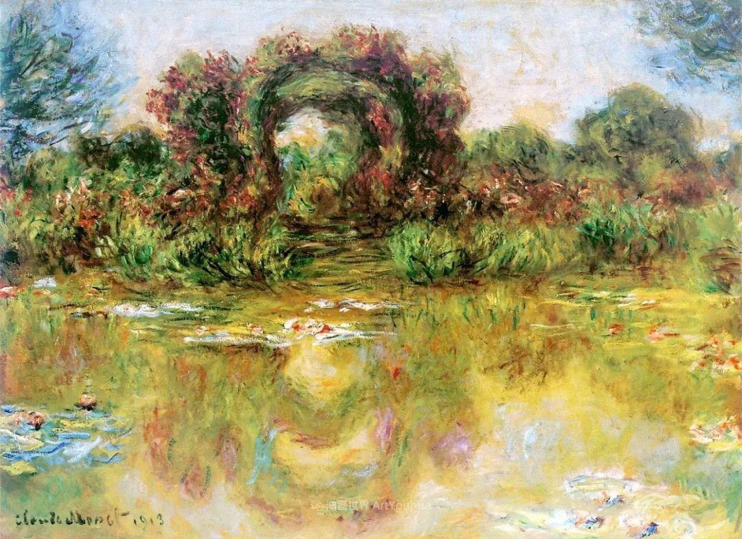 阳光四溢的色彩大师   以莫奈的花园祝你牛年欣欣向荣插图45