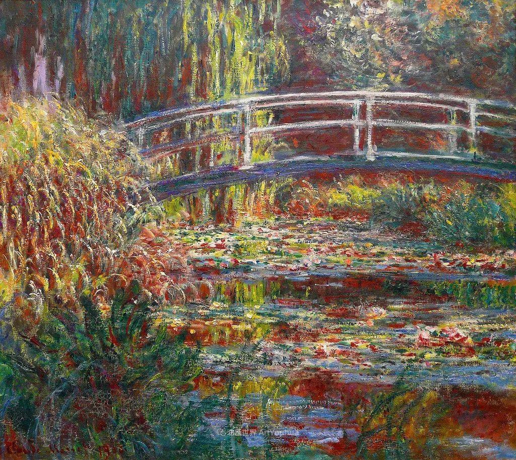 阳光四溢的色彩大师   以莫奈的花园祝你牛年欣欣向荣插图67