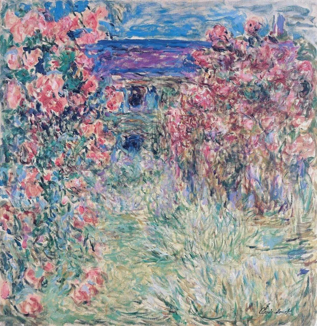 阳光四溢的色彩大师   以莫奈的花园祝你牛年欣欣向荣插图99