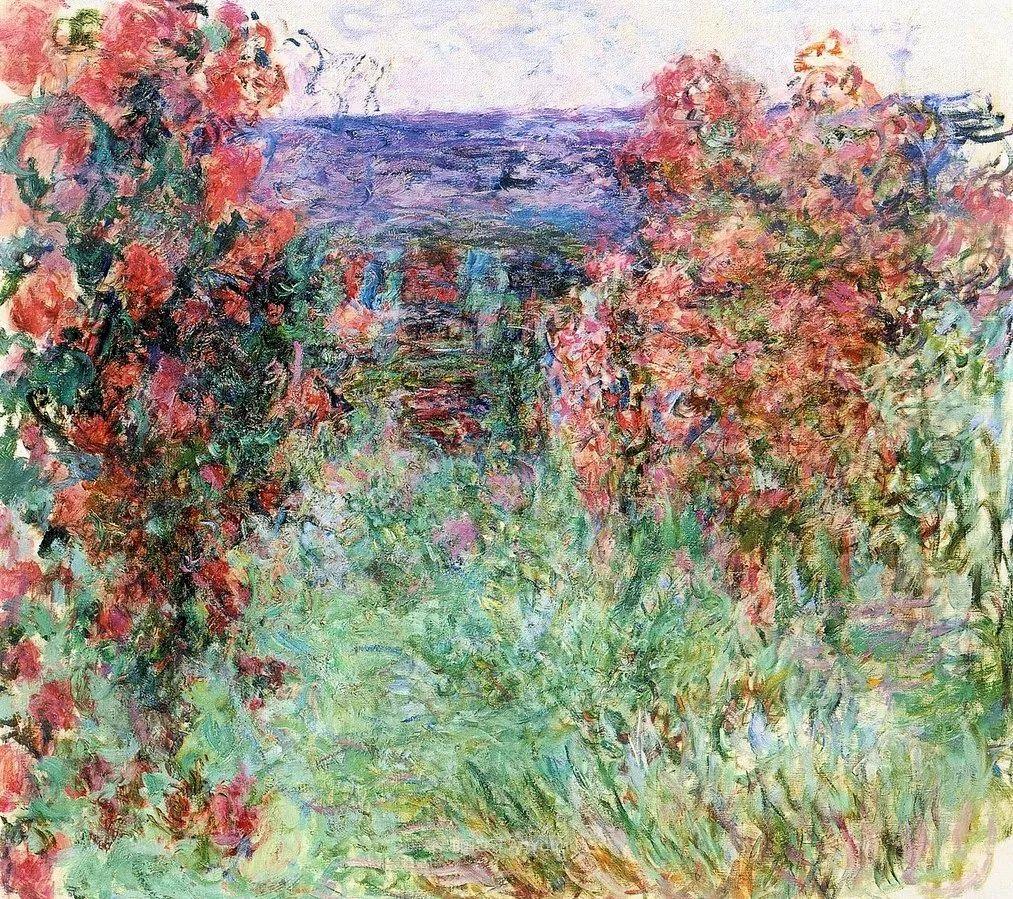 阳光四溢的色彩大师   以莫奈的花园祝你牛年欣欣向荣插图101