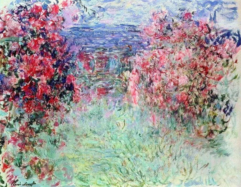 阳光四溢的色彩大师   以莫奈的花园祝你牛年欣欣向荣插图103