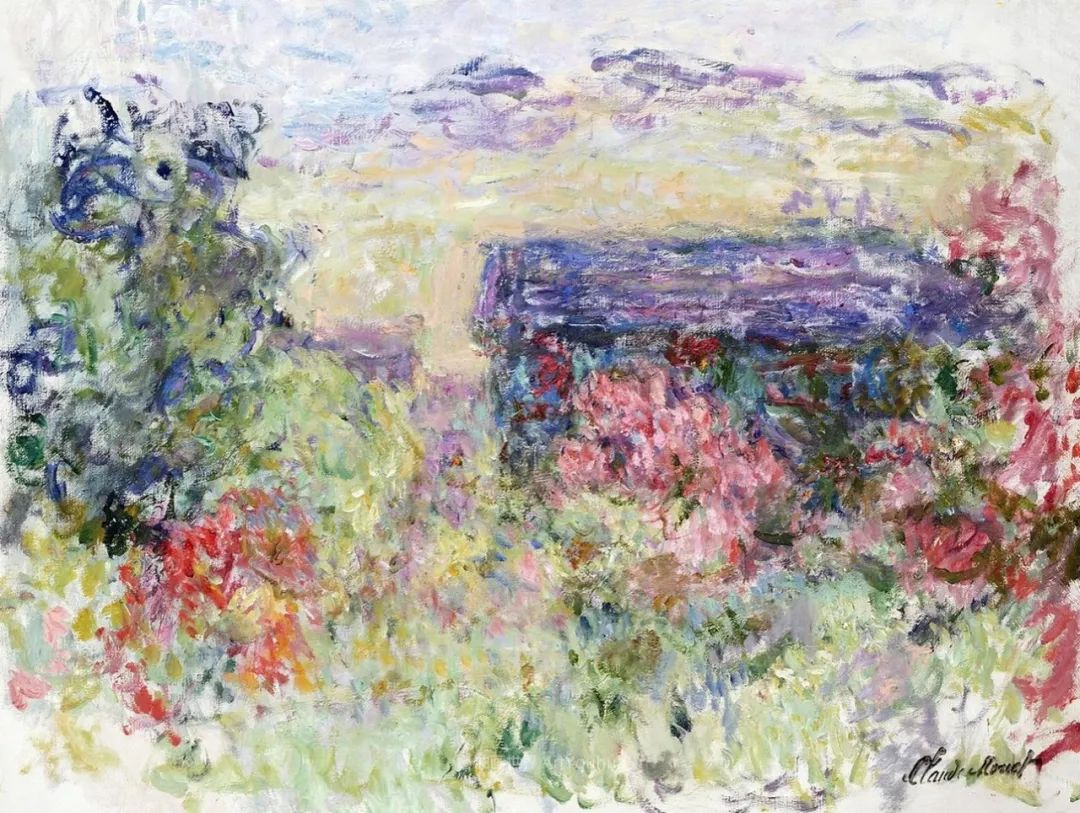 阳光四溢的色彩大师   以莫奈的花园祝你牛年欣欣向荣插图123
