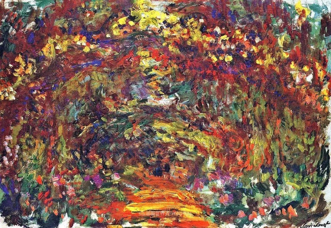 阳光四溢的色彩大师   以莫奈的花园祝你牛年欣欣向荣插图131