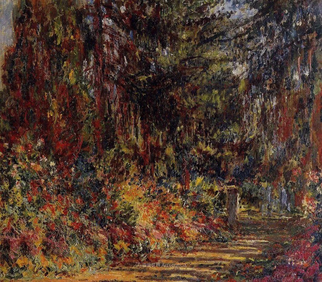 阳光四溢的色彩大师   以莫奈的花园祝你牛年欣欣向荣插图133