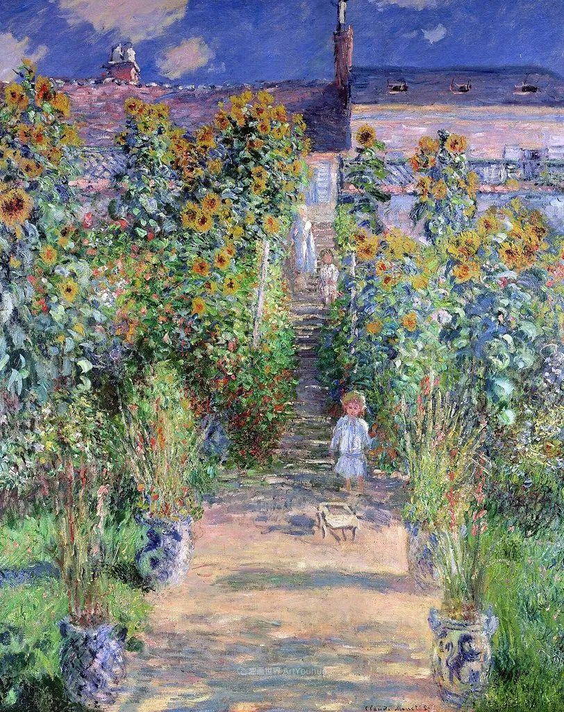 阳光四溢的色彩大师   以莫奈的花园祝你牛年欣欣向荣插图155